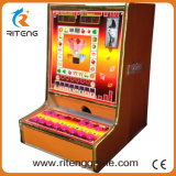 Máquina de jogo do casino o mais quente do entalhe do empurrador da moeda 2017 para a venda