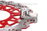 Antidieb-Ton-Sicherheits-Warnungs-Elektron-Platten-Bremsvorrichtung6mm Pin für den Motorrad-Motorrad-Sicherheits-Sport, der Fahrrad (Silber, läuft)