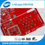 中国の製造業者からの赤いはんだのMasker PCB安いPCB
