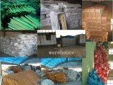 Houe agricole principale de houe de tête de jardin de râteau en acier plat de houe