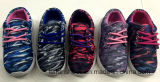 Zapatos coloridos del deporte de la inyección de Breathble del cabrito barato (FF924-1)