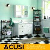 Vanité moderne américaine de salle de bains en bois solide de qualité de type (ACS1-W09)