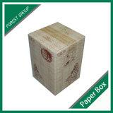 Kundenspezifischer einzelner geummauerter hölzerner gewölbter Kasten (FP8039117)