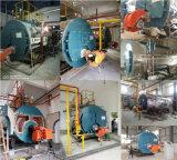 caldeira de vapor despedida gás da indústria 2ton