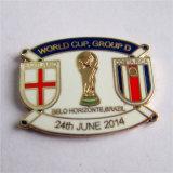 큰 Quantiy 월드컵 접어젖힌 옷깃 Pin