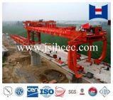 ponte da construção de aço 900t que erige a máquina