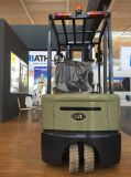 1600kgs carretilla elevadora eléctrica de la rueda de la capacidad tres