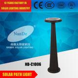 Lumières actionnées solaires de chemin de batterie au lithium d'IP65 3.7V 5ah