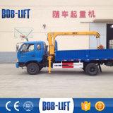 Grue montée mini par camion de 3 tonnes