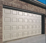Aluminio y puerta seccional comercial de acero del garage de las parrillas de la seguridad del frente del almacén (fz-FC3650)