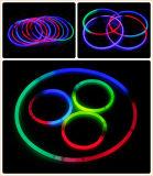 22.8 Plastic Halsband van de TriGloed van de Kleur '' de Individuele Foilbag