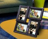 Frame plástico da foto da colagem da mesa da parte superior de tabela