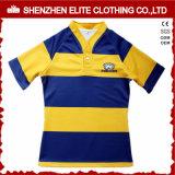 Os homens da equipe de Austrália personalizaram barato a camisola da liga do rugby (ELTRJJ-153)