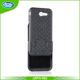 Étui haut de gamme avec étui haut-parleur avec clip ceinture et Kickstand pour Samsung J3