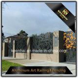 Comité van de Omheining van het Aluminium van het Traliewerk van de Veiligheid van de tuin het Snijdende