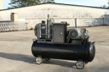 compressor de ar pequeno do parafuso de 32cfm 10bar com tanque