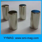 Магнит неодимия цилиндра магнитов формы ручки редкой земли для генератора