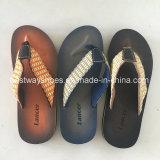Men Flip-Flops PU Leather Slipper
