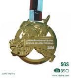 Medaglioni in lega di zinco personalizzati di sport del ricordo di tema del Triathlon