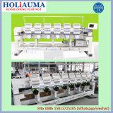 Holiaumaの高速15は6ヘッド平らな刺繍機械をマルチ刺繍機能のためにコンピュータ化されて着色する