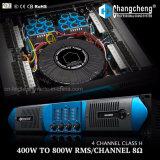 Amplificador de DJ de la potencia de la clase H del canal de la serie 4 del MX FAVORABLE