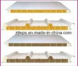 Painel de sanduíche revestido /Board da telhadura do EPS do aço da cor para a construção da casa