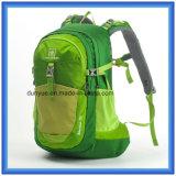 Sac à dos de hausse imperméable à l'eau de la mode la plus neuve, sac à dos de polyester, sac campant s'élevant de sac à dos de course de sports en plein air