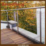 MiniEdelstahl-Rod-Geländer-System für Balkon (SJ-H5009)