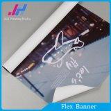 Bandeira revestida do PVC de Frontlit da alta qualidade Matte do cabo flexível para a exposição