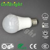 Natual 백색 전통 모양 60mm 7W E27 LED 전구
