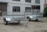 8X5 de gelaste Aanhangwagen van de Doos in Gegalvaniseerd