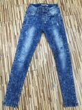 Джинсыы фабрики женщин джинсыов джинсовой ткани способа повелительниц OEM 2017