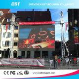 Schermo di visualizzazione esterno del LED dell'affitto di P3.91 SMD2525 6500CD/m2 per l'evento di intrattenimento