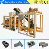 Máquina de Fatura de Tijolo QT4-25 Linha de Produção Automática de Concreto Hollow Block Produzindo no Brasil