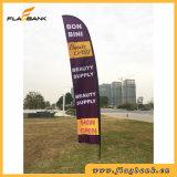 Grande formato che fa pubblicità alla bandierina di Swooper di stampa di Digitahi della vetroresina/bandierina della piuma
