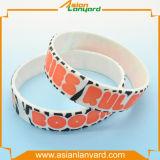 Kundenspezifischer Fertigkeit-Geschenk-GummisilikonWristband