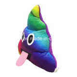 Palier coloré d'Emoji de dunette de gosses de jouet mou drôle de peluche