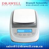 Equilibrio electrónico del disco cuadrado del LCD para 0.1g/0.01g con la calibración externa