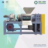 PET-LDPE-Plastikfilm, der Maschine für die Wiederverwertung der Zeile zusammendrückt