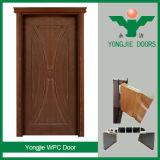De la fábrica del fabricante sola WPC puerta del diseño