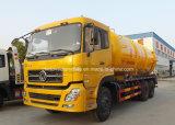 camion d'aspiration d'eaux d'égout de vide de l'égout 16000L du vide 6X4