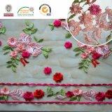 Beau tissu coloré Red&Pink C10005 de lacet de l'Afrique