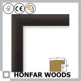 Frame de retrato ereto de madeira moderno de Brown para a decoração Desktop