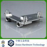 Fazer à máquina do CNC da liga de alumínio da precisão/feito à máquina/peças da máquina