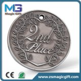 De Wholesales Aangepaste Zilveren medaille van het Metaal
