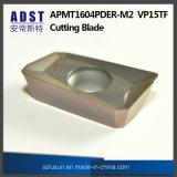 Apmt1604pder M2 Vp15TF 절단 잎 선반을%s 도는 공구 맷돌로 가는 삽입