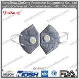 Máscara de polvo plegable Ffp3 del Ce con la protección de la válvula respiratoria