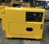5kw de Lucht AC220V/DC12V koelde de Diesel Reeksen van Genarator