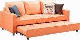 Großhandelsqualitäts-billiges Gewebe ziehen Sofa mit Bett aus