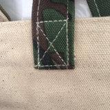 Sacchetto di acquisto stampato spiaggia del Tote di estate della tela di canapa delle signore
